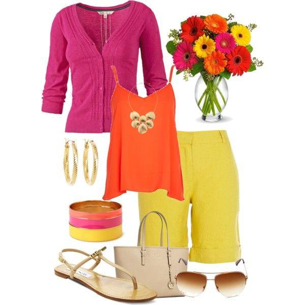 Pink, Orange & Yellow