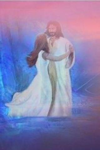 9b0d8e59f075defd38ce4d3ebd6d2ac6.jpg (320×480) | Dancing with jesus, Jesus art, Heaven art
