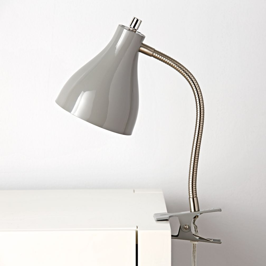 Hold on grey clip lamp bunk bed desks and bedrooms explore reading lamp for bed and more geotapseo Gallery