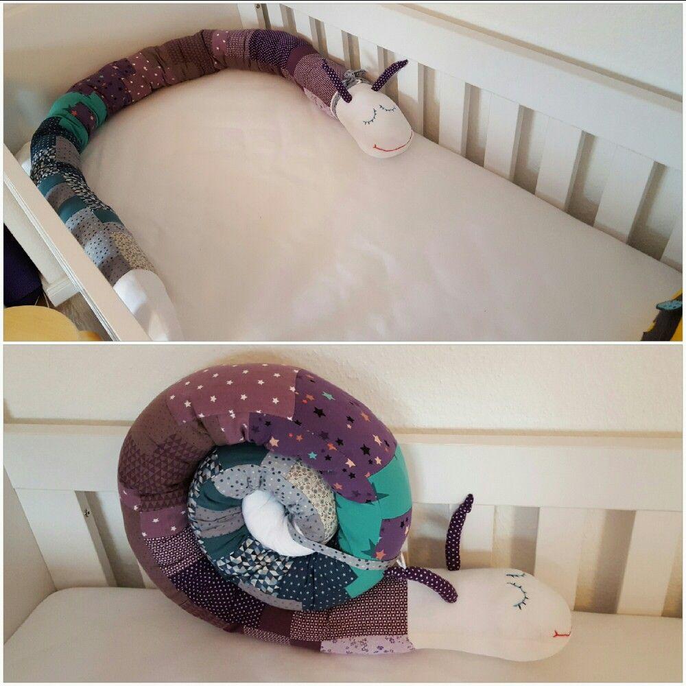 diy puckschnecke bettschlange n hen f r kinder a 5. Black Bedroom Furniture Sets. Home Design Ideas