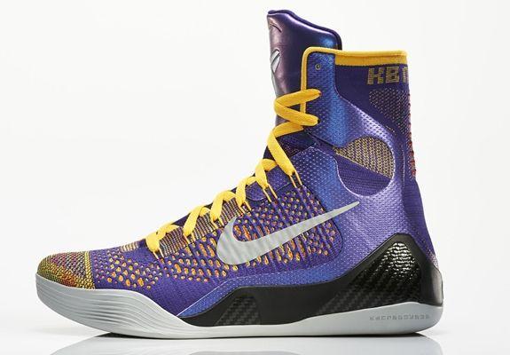 Nike Kobe 9 Elite Team | Girls basketball shoes, Kobe shoes