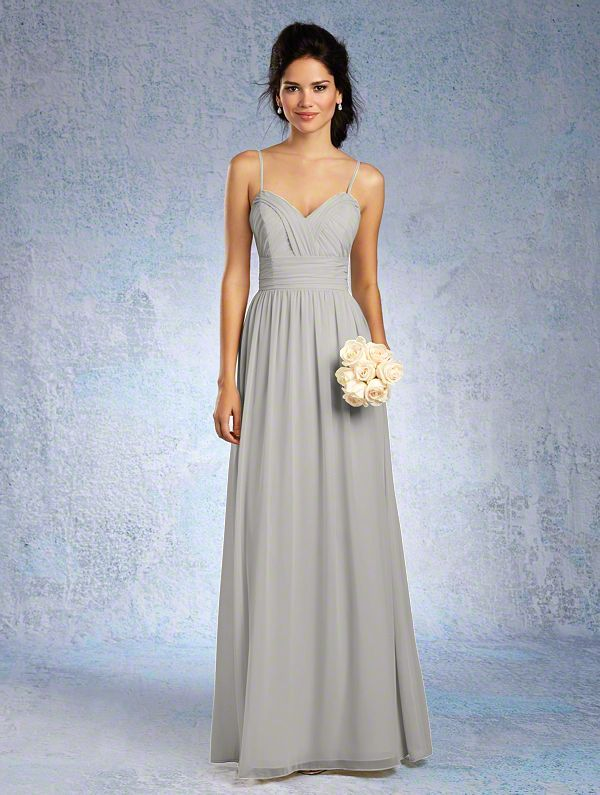 Alfred Angelo Bridesmaid Dress 7323 L In Chiffon At Weddington Way Find The Perfect Made To Order Dresses For Your Bridal Party
