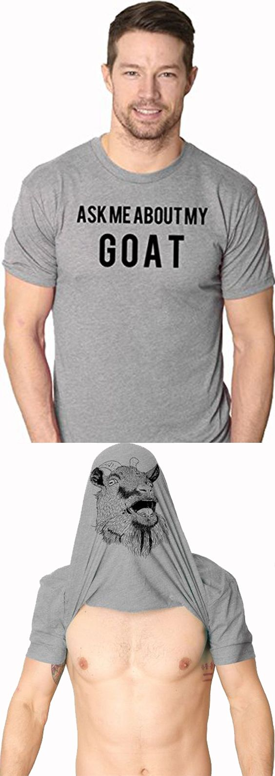 Youth Ask Me About My Goat Funny Animal Flip Shirt Costume Cool Tee for Kids