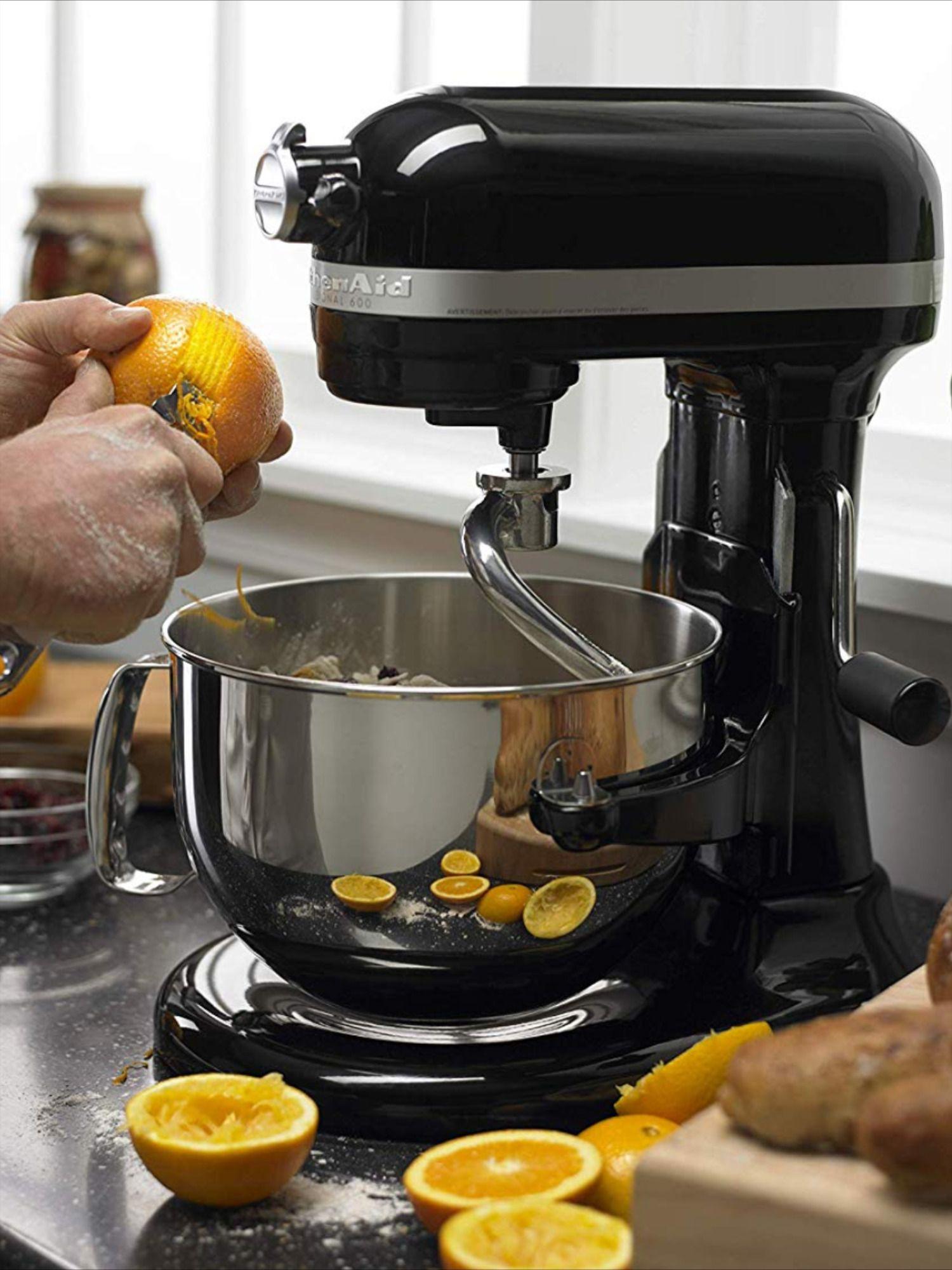 Kitchenaid 6 qt professional stand mixer onyx black