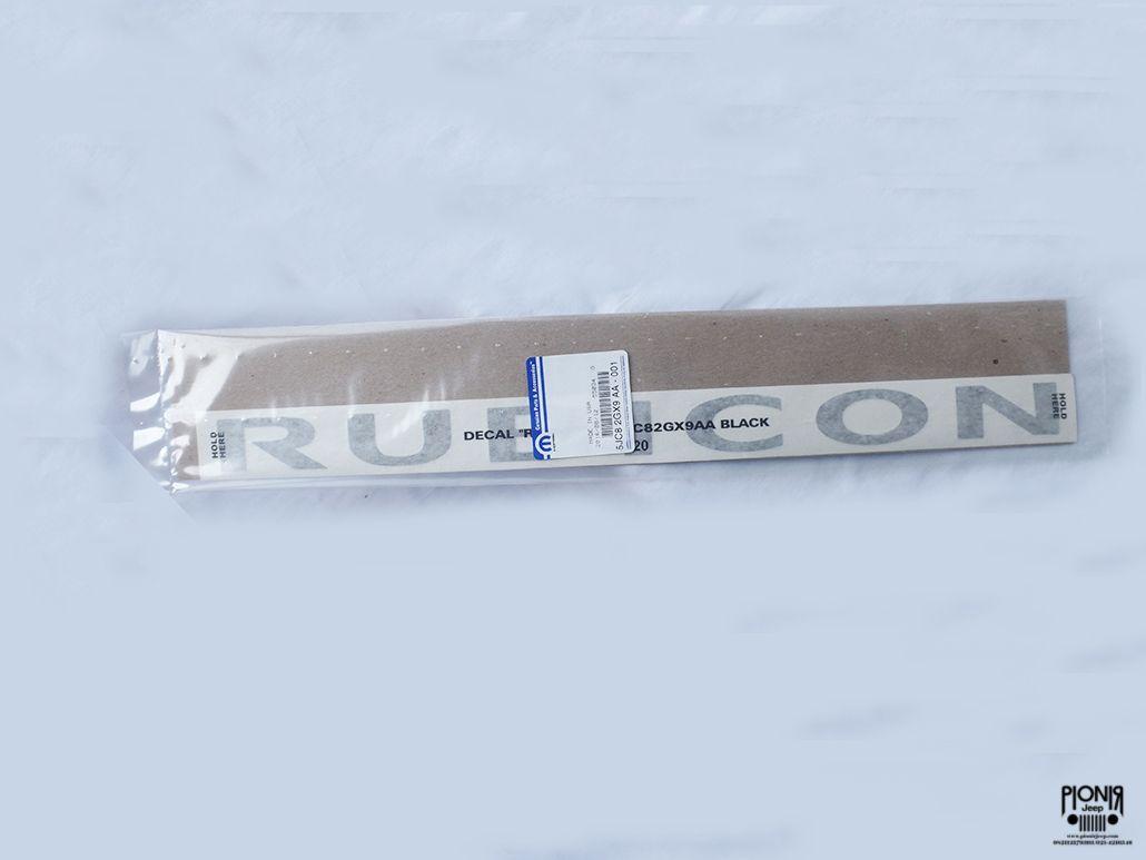 Jual decal rubicon black stiker rubicon mopar original dapatkan produk yang asli hubungi kami