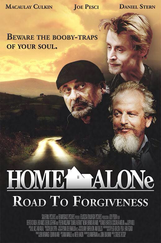 Home Alone As A Serious Drama Fake Movie Poster