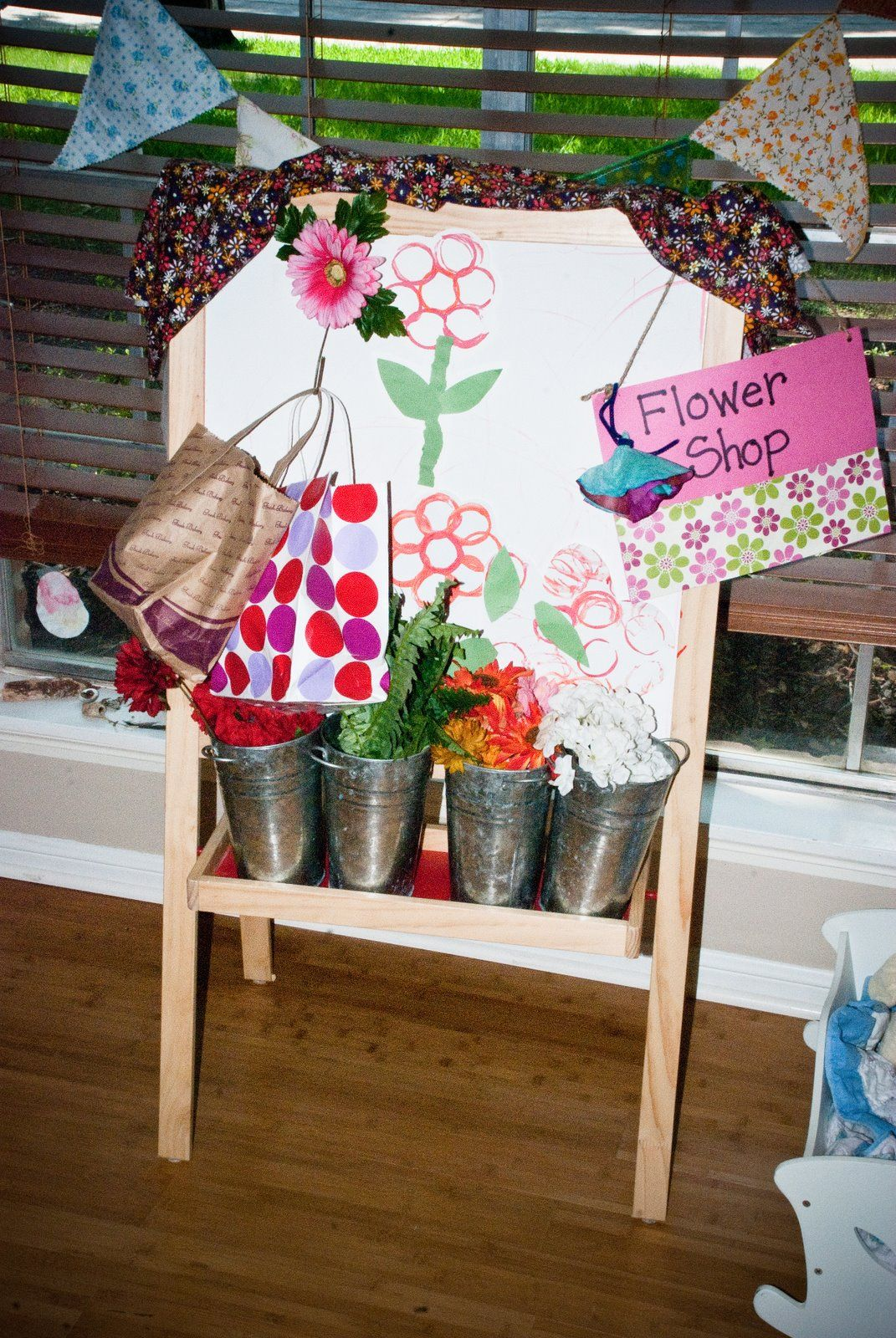Teach Your Children Well Flower Shop For Dramatic Play
