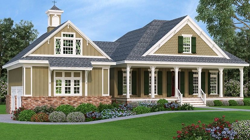 Pin By Whimsical Home And Garden On House Plans Cottage House Plans Southern House Plan Country Cottage House Plans