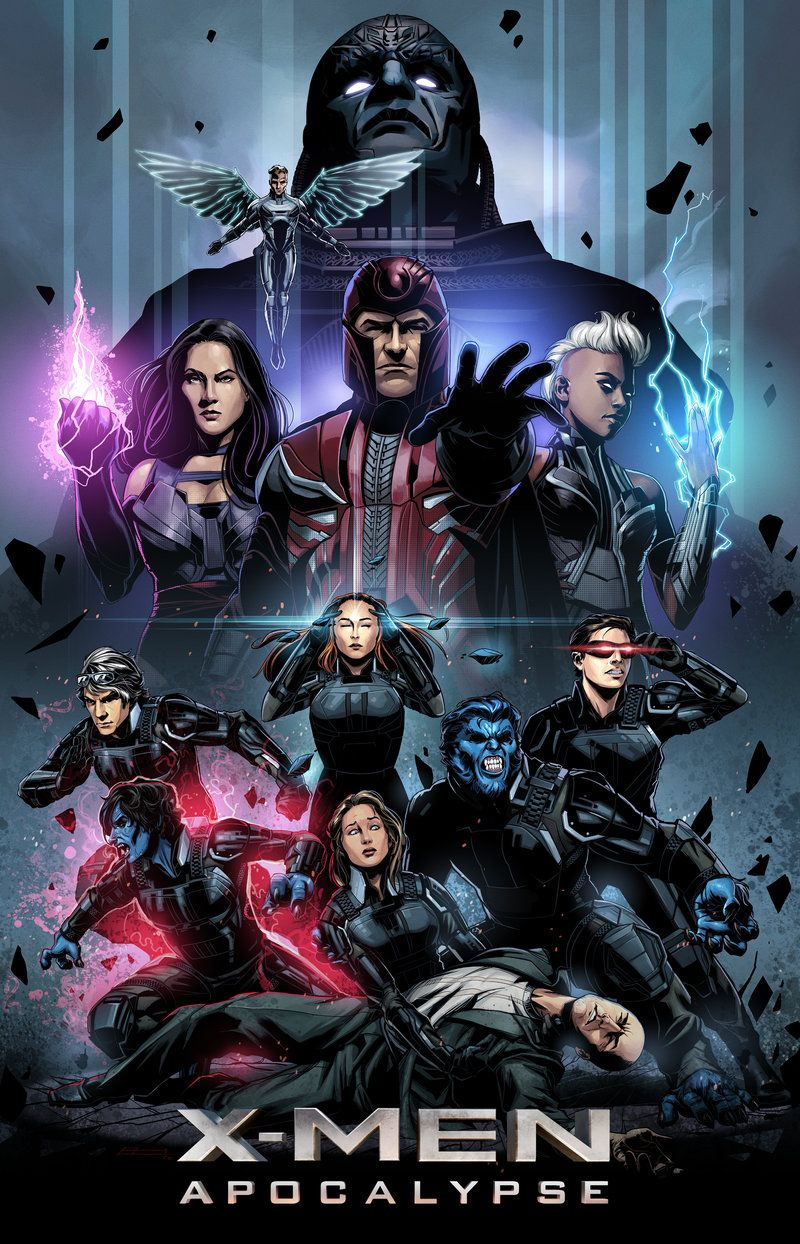 So Pumped For The Upcoming Tv Show Xmen Apocalypse X Men Marvel Superhero Posters