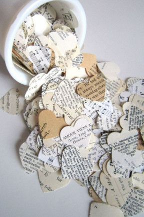 16 things to throw at the bride and groom   Wedding confetti ...
