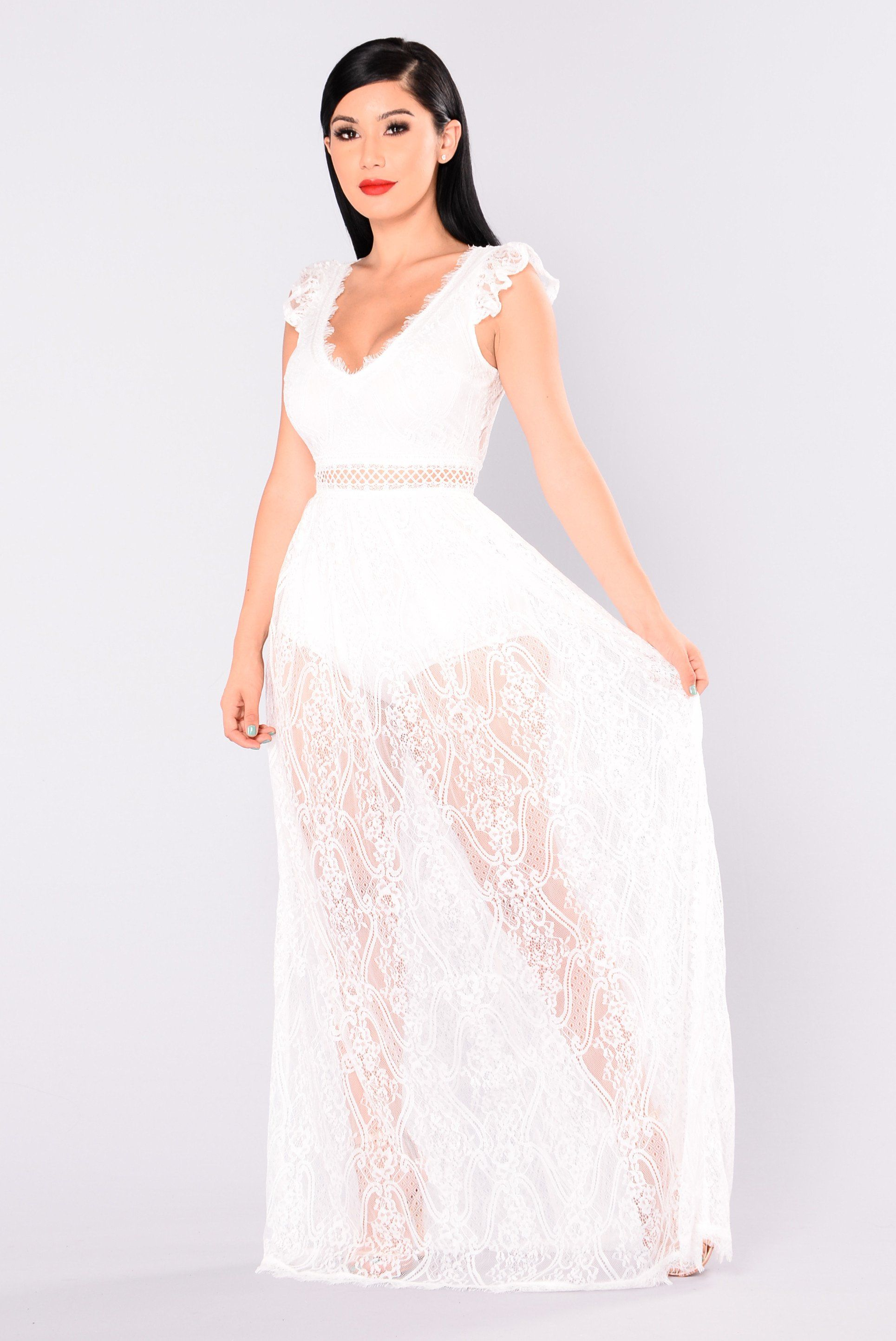 Bryleigh lace dress white dresses white lace maxi