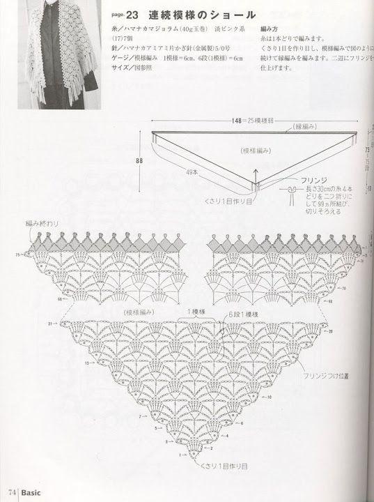Pin by Maria Angels Sanchez Vila on Crochet charts-gràfics ...