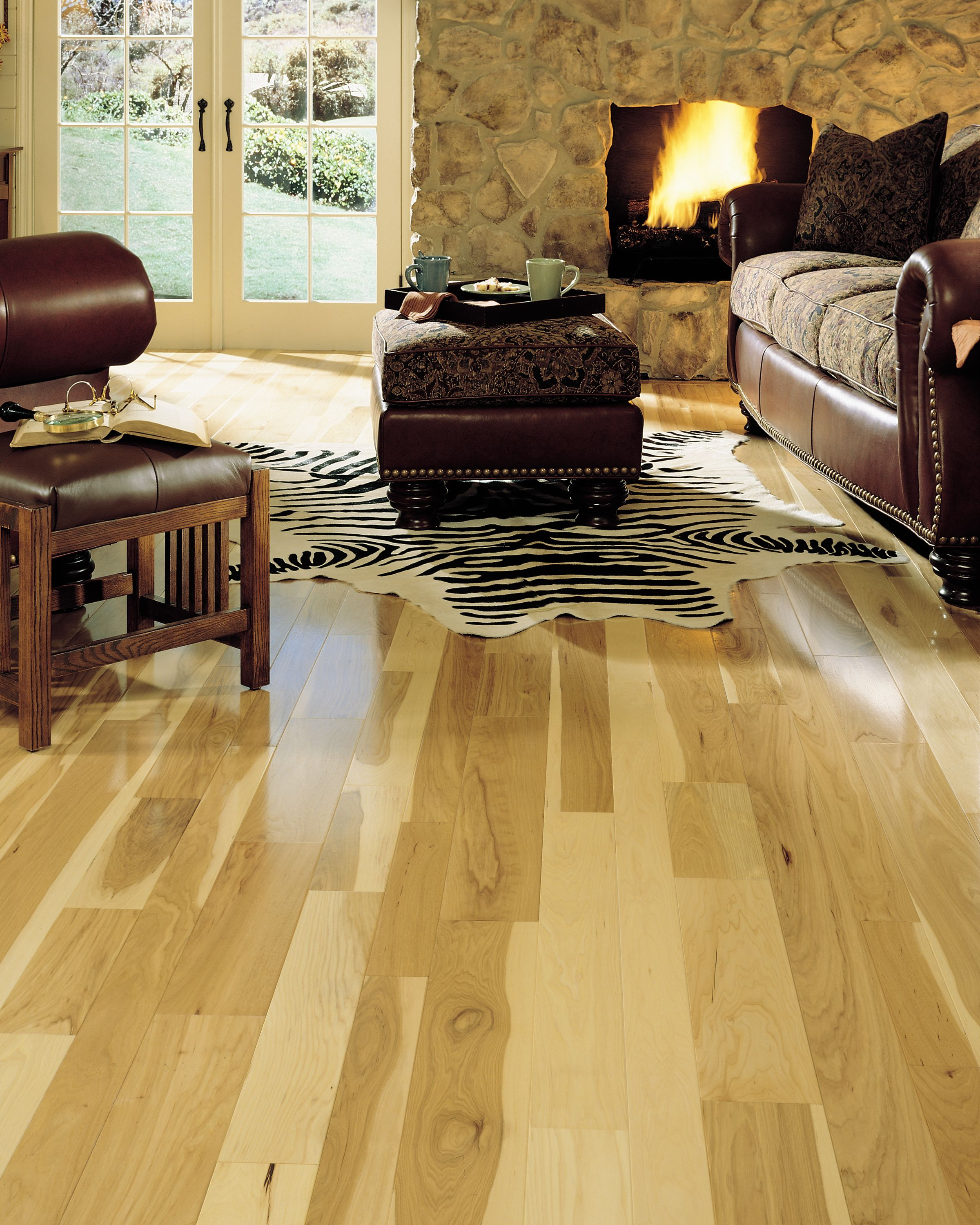 Somerset Natural Hickory (collection?) Hickory flooring