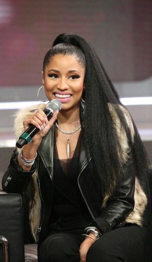 Long Ponytails Hairstyles For Women Nicki Minaj Hairstyles Nicki Minaj Pictures Nicki Minaj