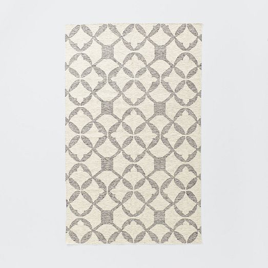 Tile Wool Kilim Rug Platinum Porch Ideas Rugs Kilim