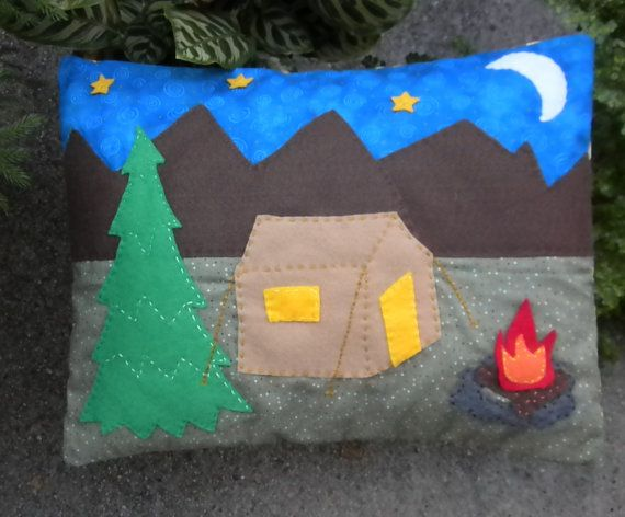 Do you love the great outdoors? Now you can sleep on this pillow and envision relaxing next to a campfire under the stars…even if you aren't there.