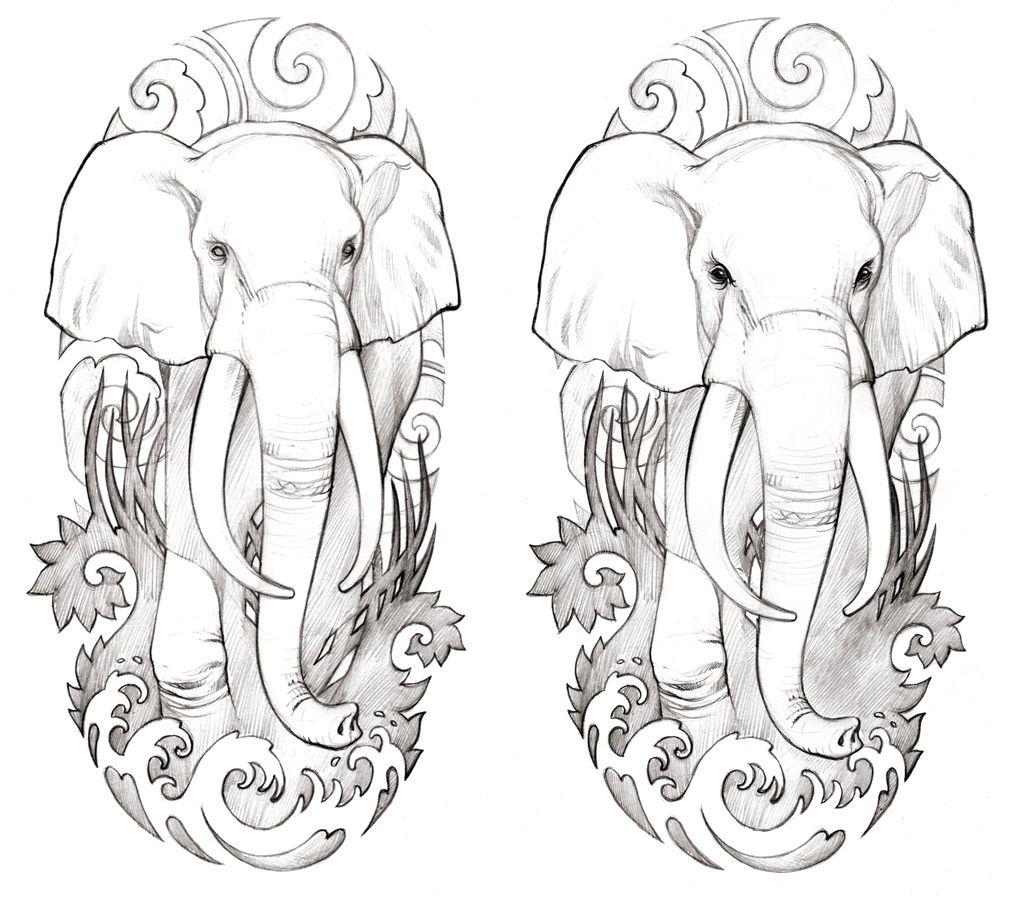 Die 20 besten Ideen zu Elefanten tattoo   tattoo elefanten ...