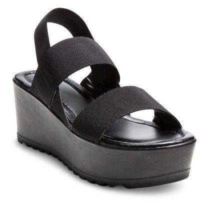 Mossimo® Jean Elastic Platform Sandals