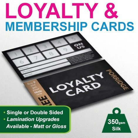 Loyalty and #Membership cards #printing on Behance #graphics - membership cards design