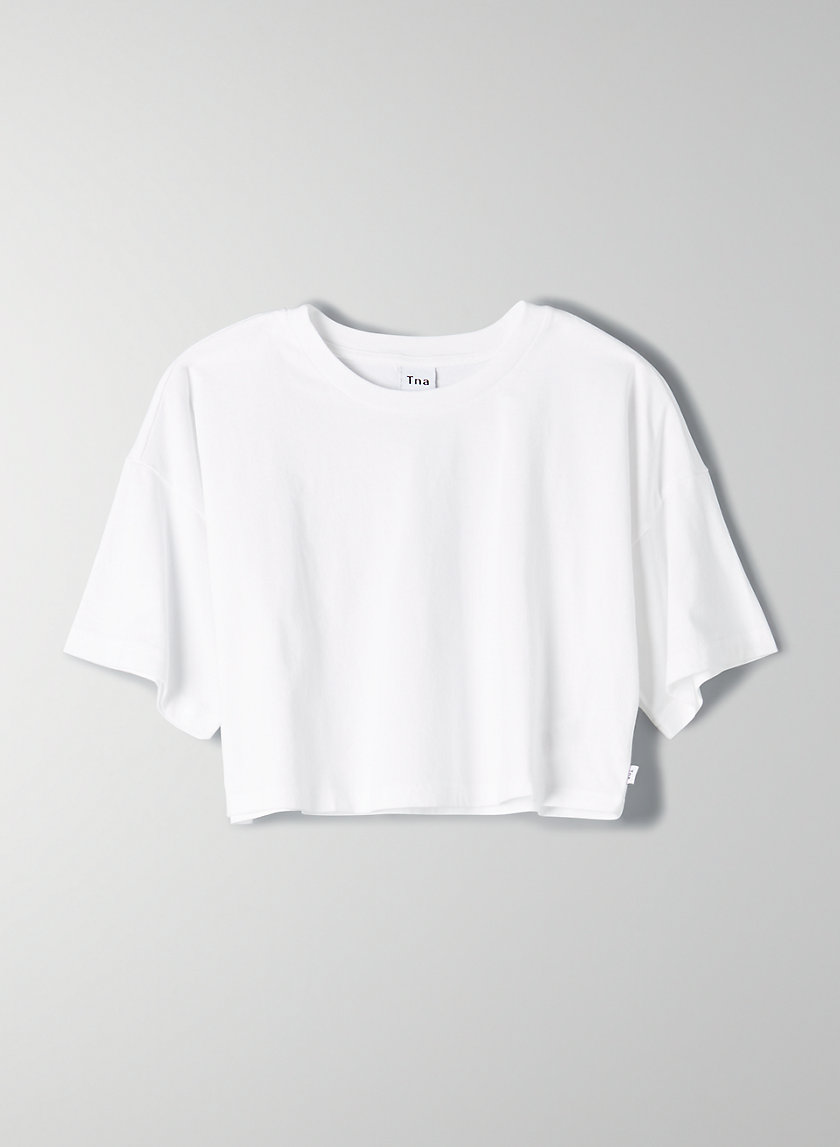 Laid Back T Shirt Cute White Shirts T Shirt Crop Top Crop Top Outfits