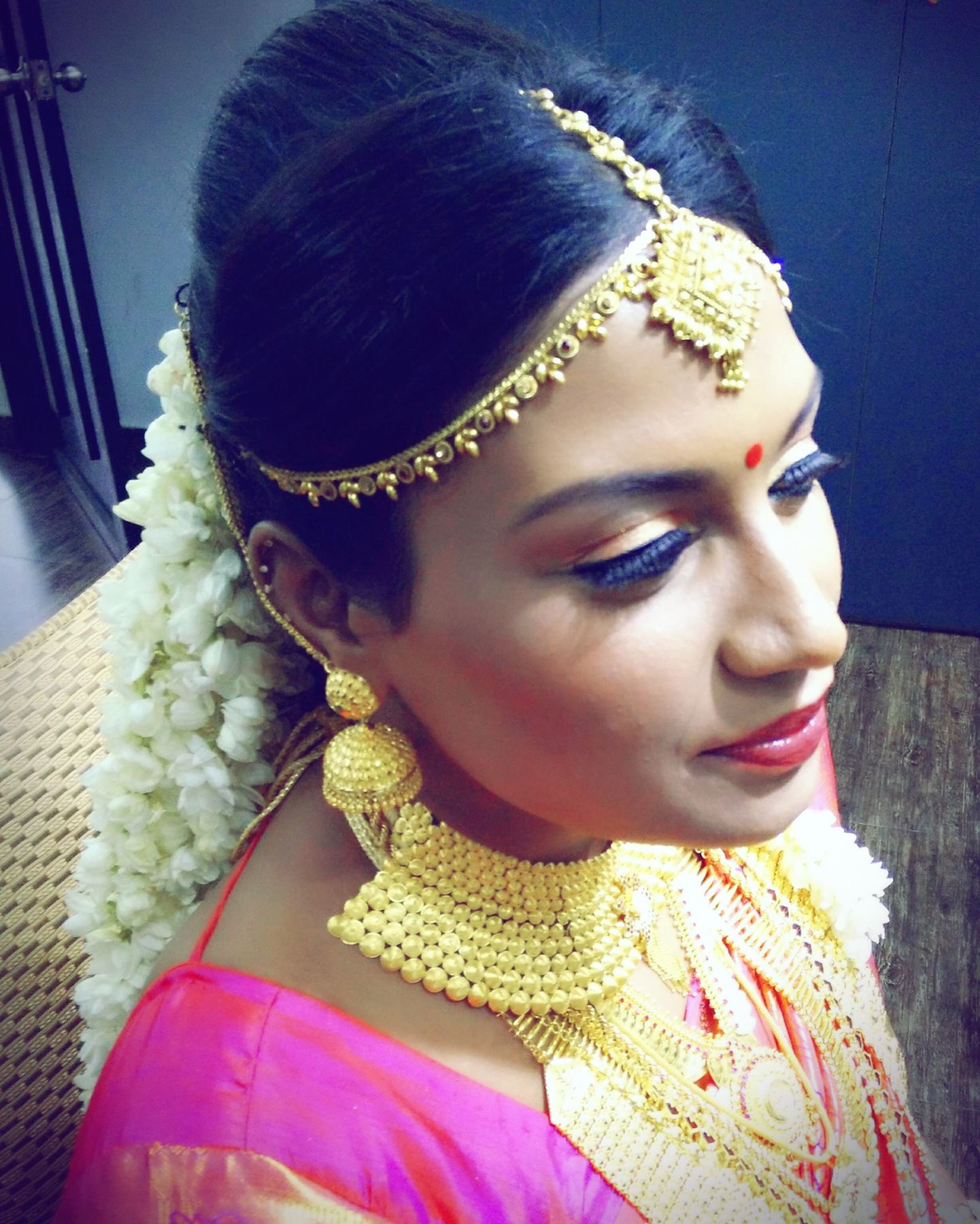 Hindu Wedding Hairstyles: Kerala Bridal Hairstyle Photos