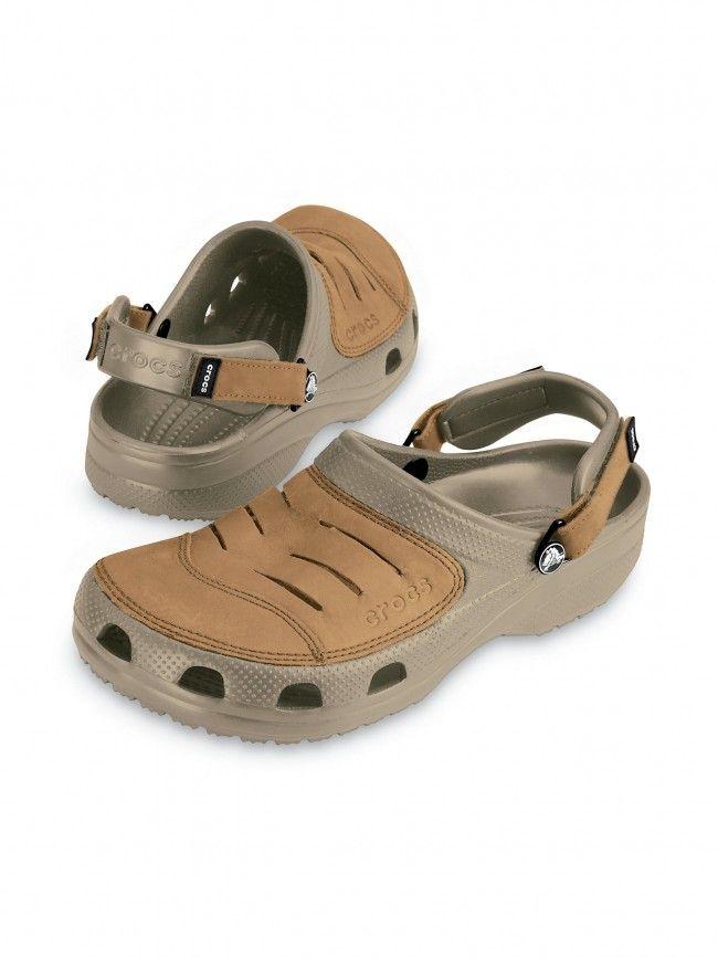 3673bbdc3df8 Crocs Yukon Khaki Brown