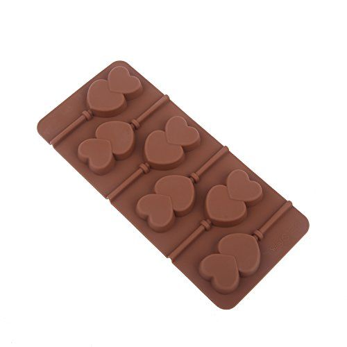 DIY Lollipop Cake Mold Flexible Silicone Mould For Candy Chocolate With