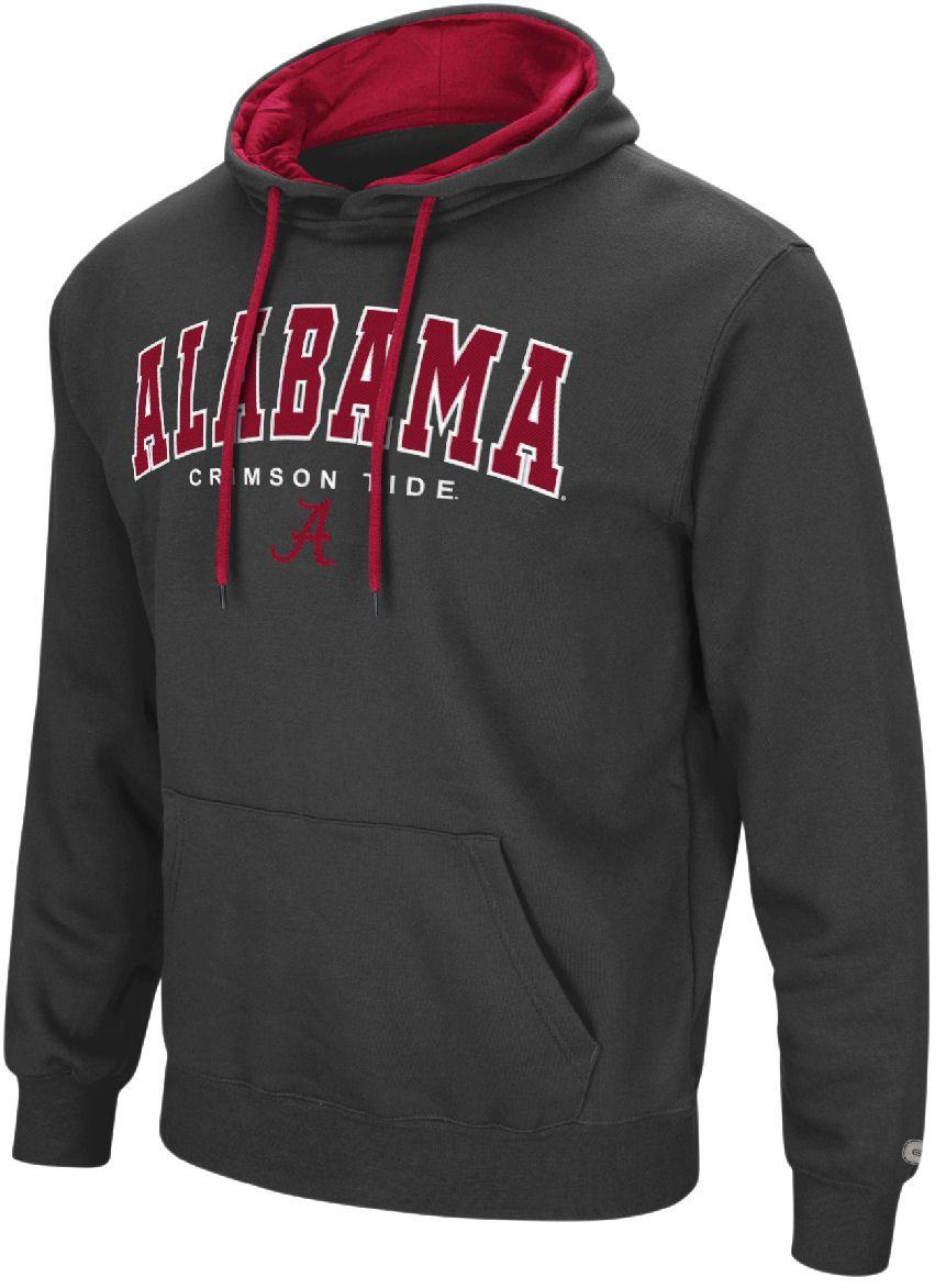 Alabama Crimson Tide Mens Charcoal Zone 3 Embroidered Pullover Hoodie Sweatshirt 44 95 Alabama Crimson Tide Clothing Alabama Crimson Tide Crimson Tide [ 1172 x 861 Pixel ]