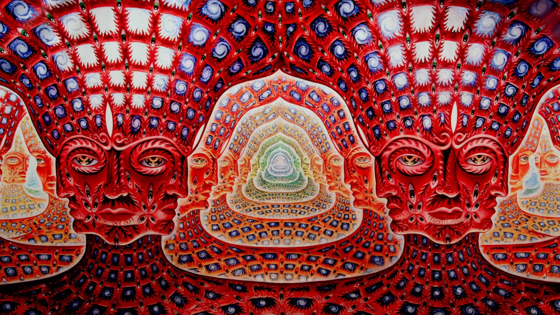 Download Alex Grey wallpapers to your cell phone art grey