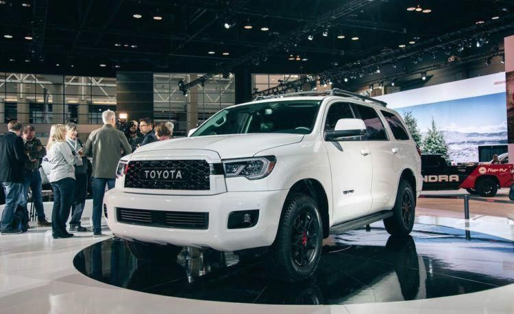 A Closer Look at the 2020 Toyota Sequoia TRD Pro 車