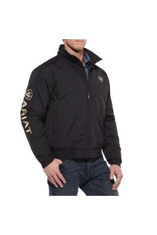 c6cd7cb9e3f ARIAT JACKET - GEORGE | Country western | Team jackets, Ariat mens ...