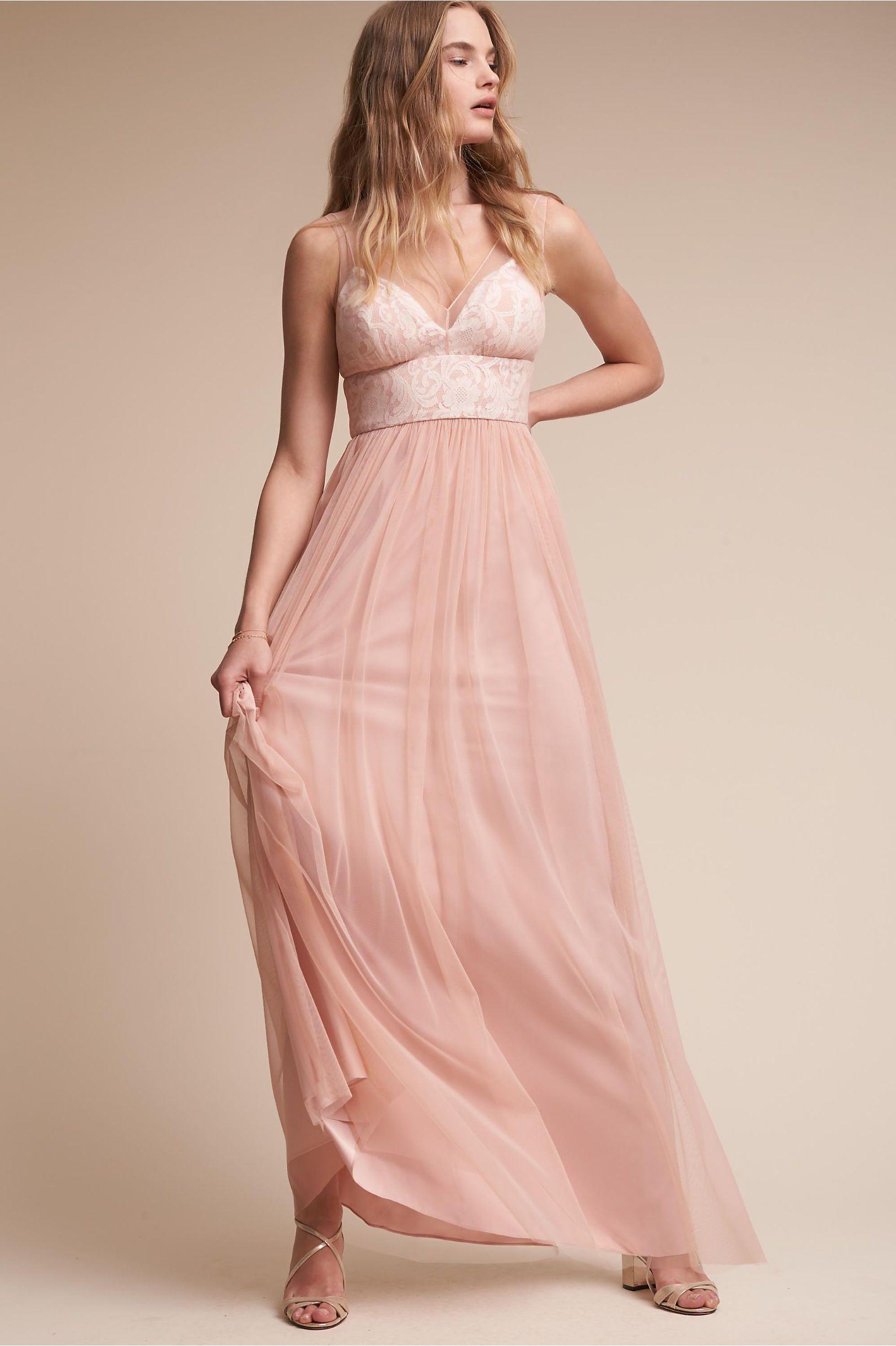 BHLDN Brit Dress in Bridal Party | BHLDN - BLUSH - Didn\'t try on ...
