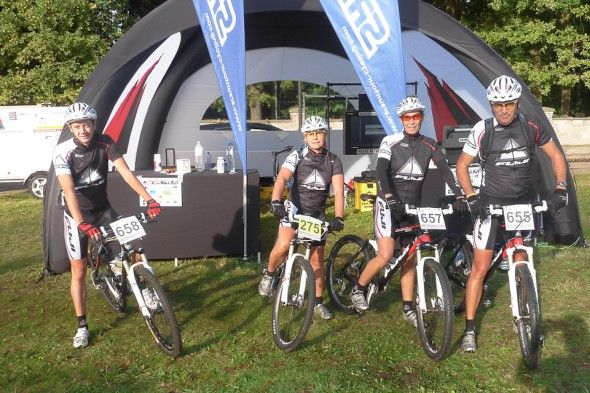 Houffalize MTB Festival | X-GLOO with Side Walls and Window Wall