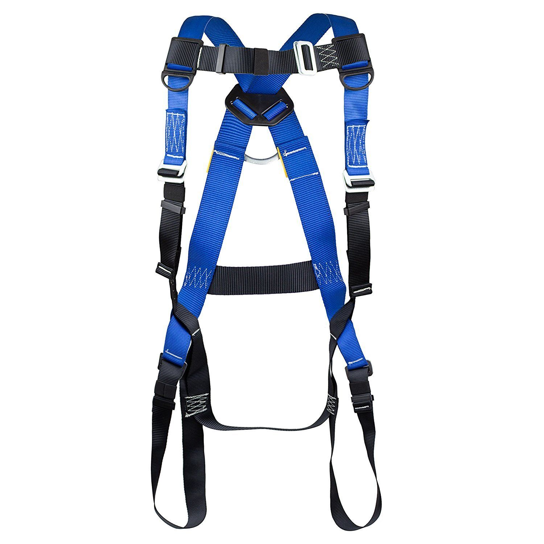 Spidergard Single DRing Full Body Harness Bundle Full