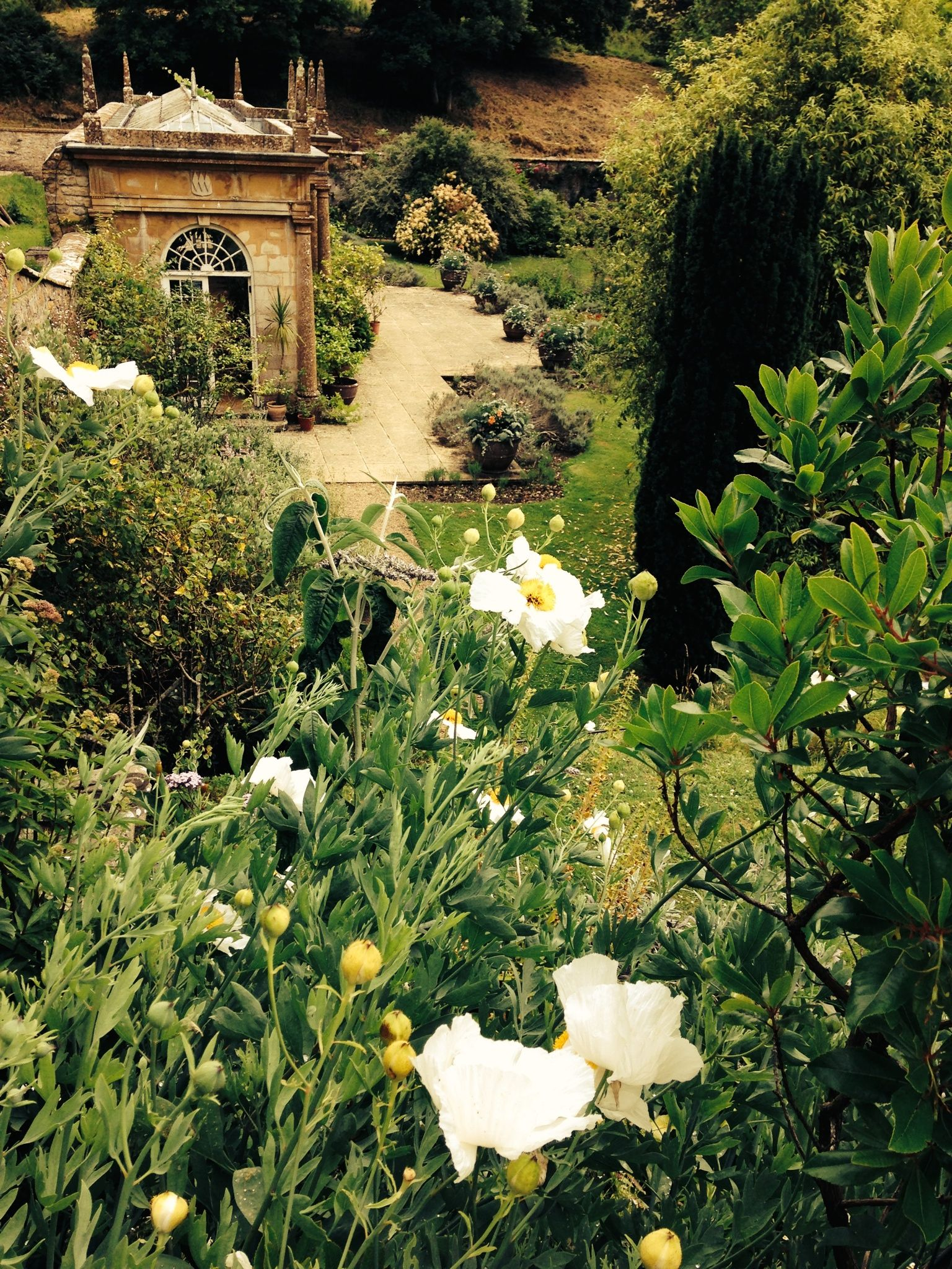 Mapperton House Garden