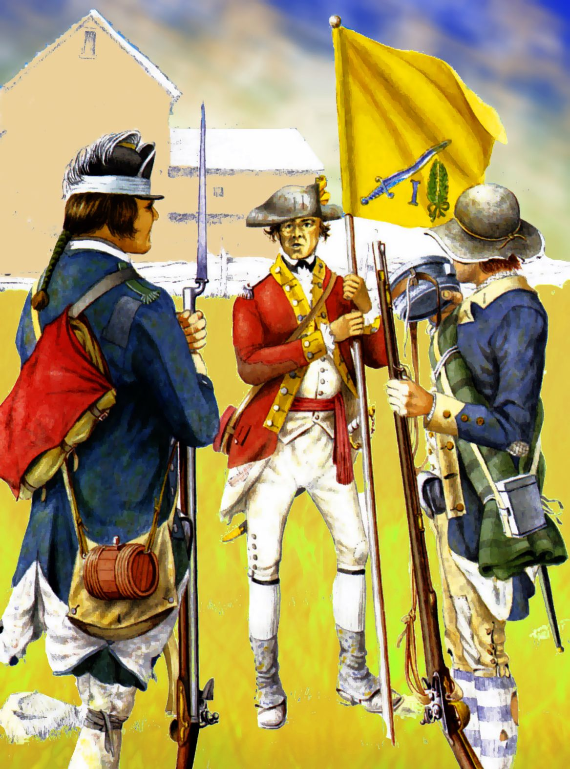 Thomas Hartley's Additional Continental Regiment Of Foot