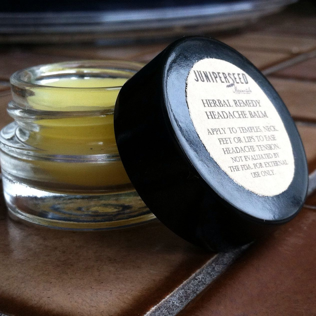 Herbal Headache Balm Temple Salve - Folk Remedy for ...