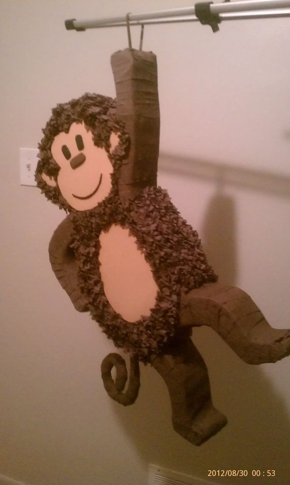 Monkey Pinata 28 inches by PinataVille on Etsy