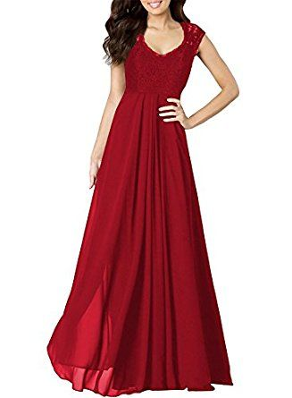 4dee24d79570 Amazon.com: Miusol Women's Casual Deep- V Neck Sleeveless Vintage Maxi:  Clothing