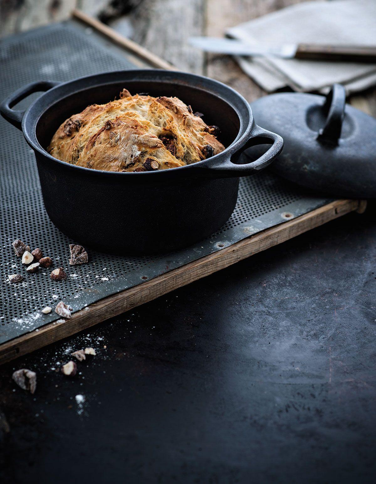 Hedelmä-pähkinä-pataleipä | Reseptit