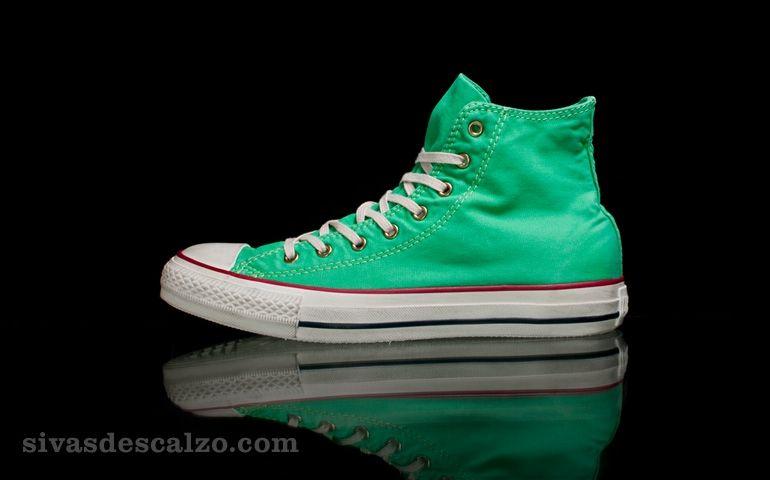 converse chuck taylor verde menta