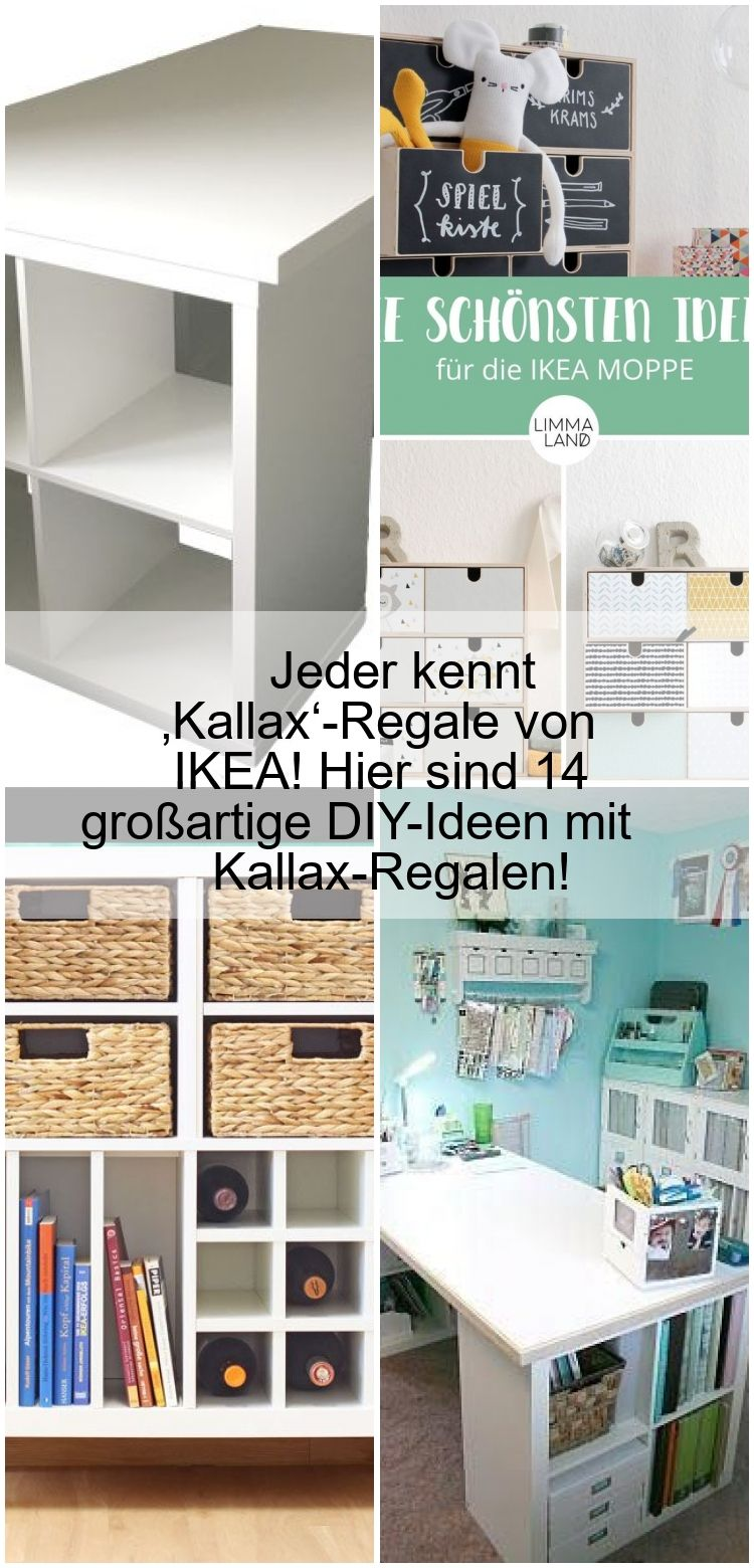 Jeder Kennt Kallax Regale Von Ikea Hier Sind 14 Grossartige Diy Ideen Mit Kallax Regalen