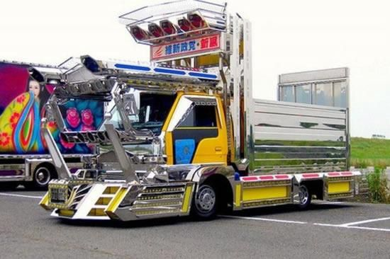 Explore Japanese Decoration Custom Trucks And More