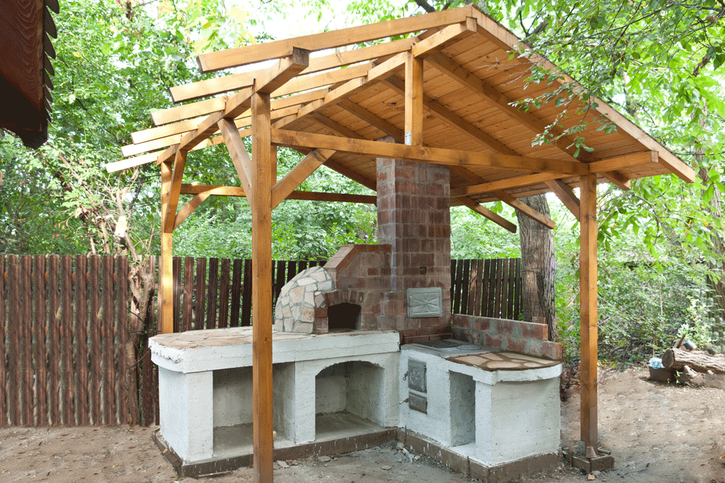 How to build an outdoor pizza oven howtospecialist how for Building an outside kitchen