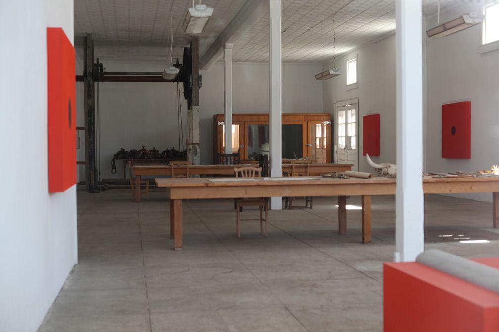 Donald Judd, ranch office, Marfa | Studio | Pinterest ... | 1008 x 672 jpeg 57kB