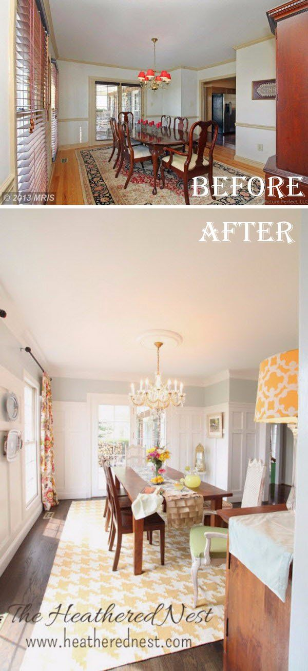 Dining Room Makeover Gorgeous Easy And Budgetfriendly Dining Room Makeover Ideas  Room Dining Design Inspiration