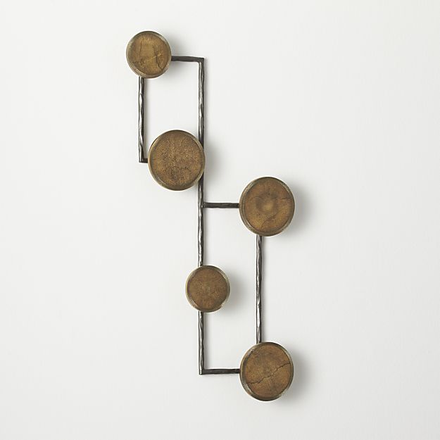 Wall Planter Hook Coats Shops And Crates Fascinating Crate And Barrel Wall Mounted Coat Rack