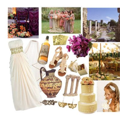 Ancients Greece inspired wedding ideas | Maybe one day