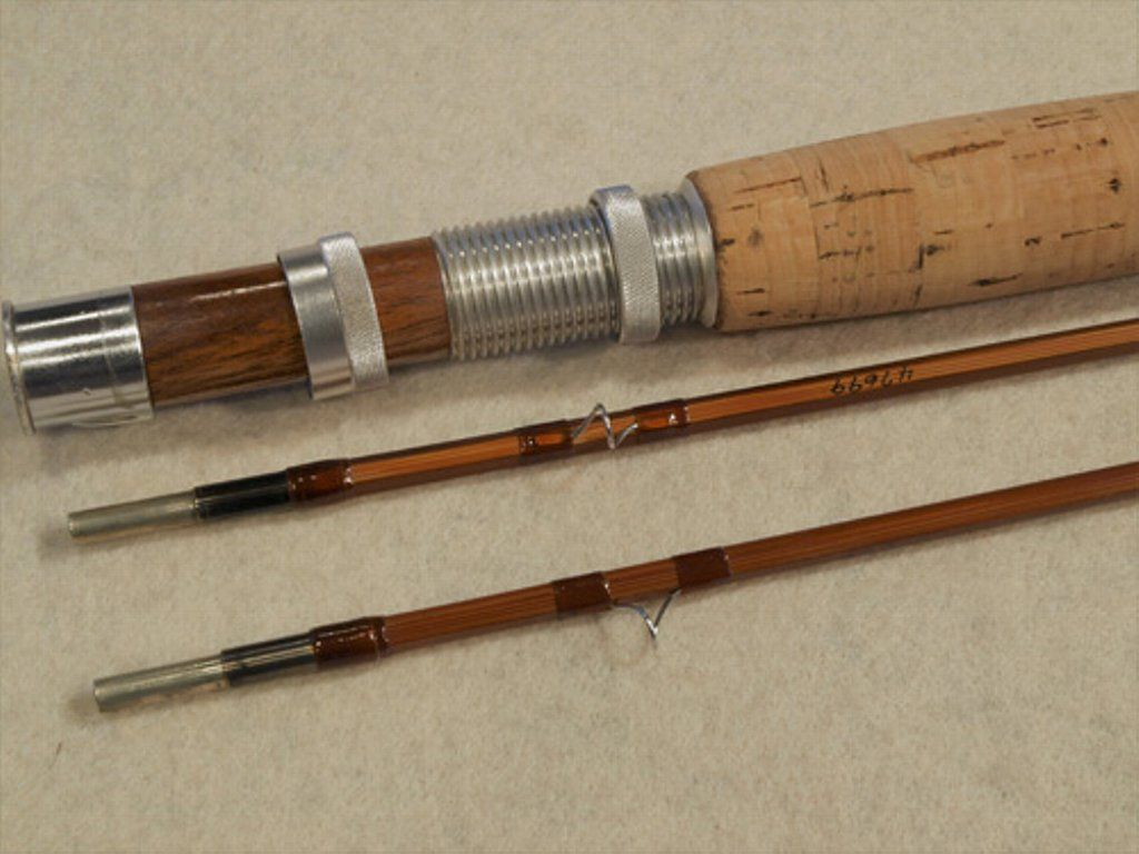 Photo of ORVIS BATTENKILL 7′ 6″ BAMBOO FLY ROD…$550 A favorite model for three generati…