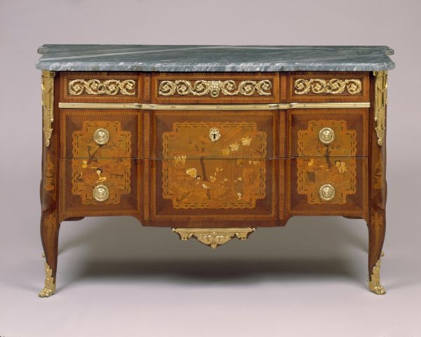 Commode By Pierre Macret Circa 1770 Pm Display In The Entry Hall